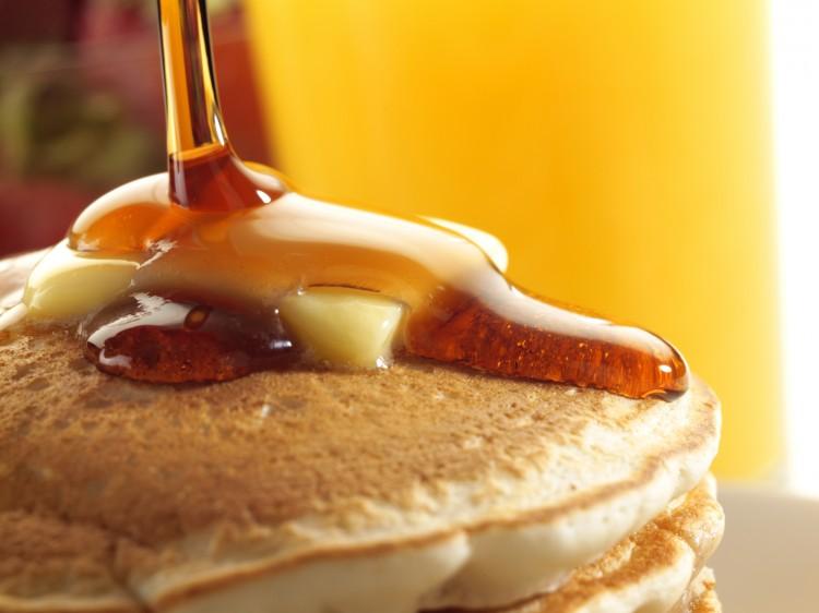 Jim Beam Pancake Syrup Picture in pancakes