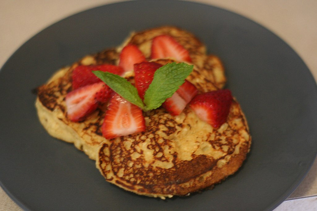 Matzo Meal Pancakes Picture in pancakes