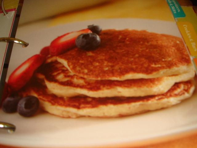 Oat Bran Pancakes Picture in pancakes