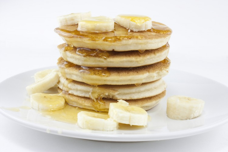 Oatmeal Banana Pancake Recipe Picture in pancakes
