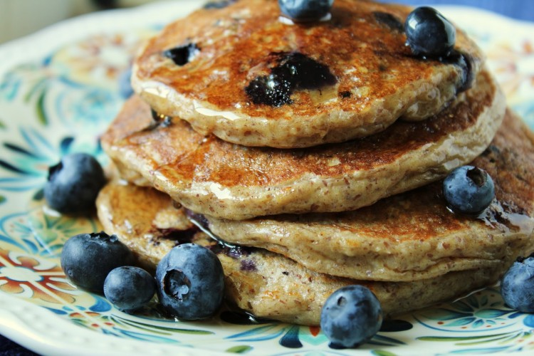Oatmeal Cottage Cheese Pancakes Picture in pancakes