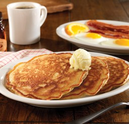 1950x1471px Pancake Breakfast Flyer Template Picture in pancakes