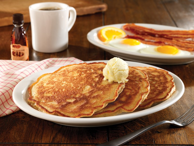 Pancake Breakfast Flyer Template Picture in pancakes