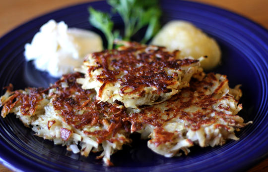 Potato Pancakes From Scratch Picture in pancakes
