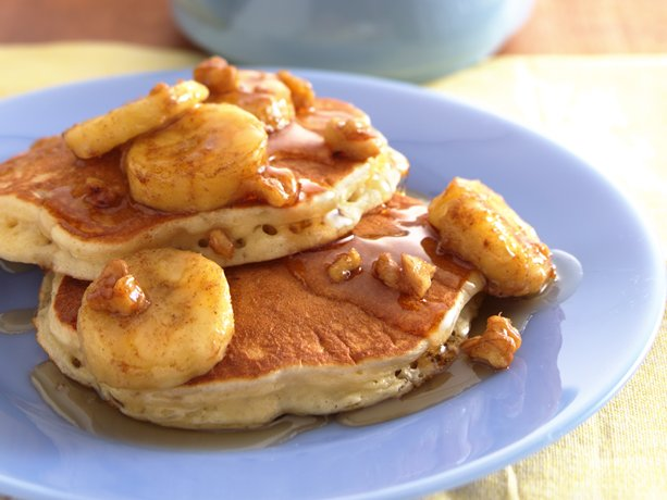 Quaker Oatmeal Pancake Mix Picture in pancakes