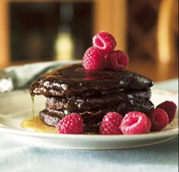 600x600px Raspberry Pancake Recipe Picture in pancakes