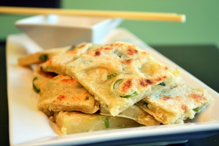 Scallion Pancake Recipe Picture in pancakes