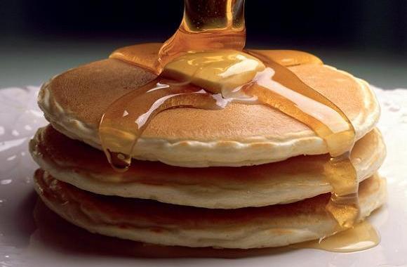 Simple Pancake Batter Recipe Picture in pancakes