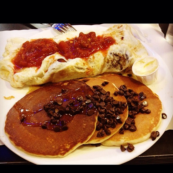 Stacks Pancake House Hoboken Picture in pancakes