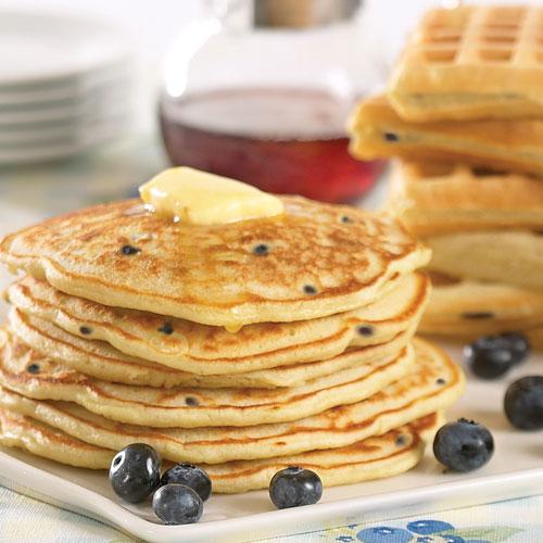 Stonewall Kitchen Pancake Mix Picture in pancakes