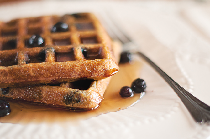 Waffle Recipe With Pancake Mix Picture in pancakes