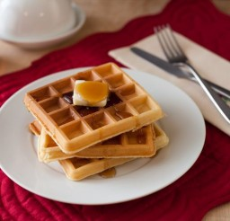 736x490px Can You Make Waffles With Pancake Mix Picture in pancakes
