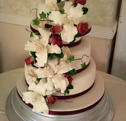 432x640px 3 Tier Cake Prices Picture in Cake Decor