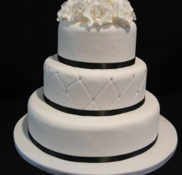 450x600px 3 Tier Wedding Cake Picture in Wedding Cake