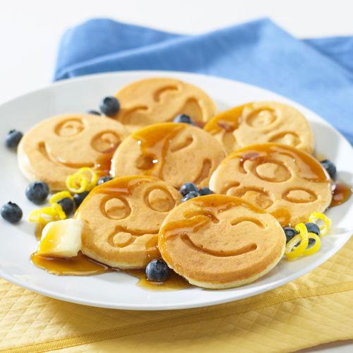 Nordic Ware Pancake Pan Picture in pancakes