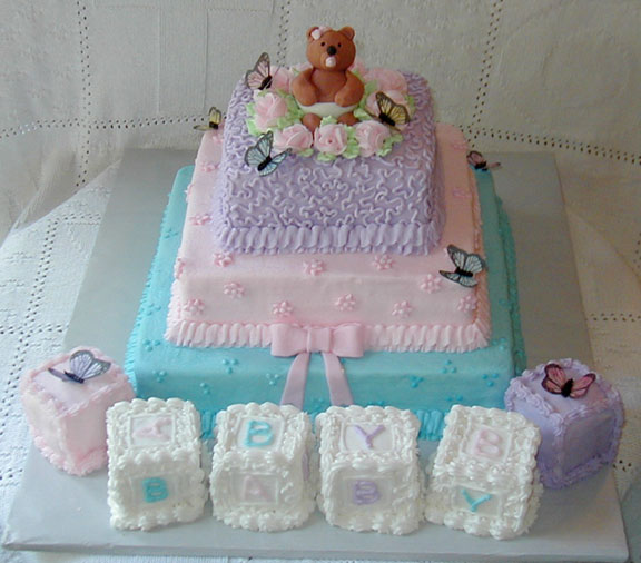 Baby Shower Cakes Picture in Wedding Cake