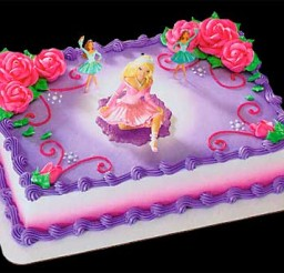 500x343px Barbie Cake Decoration Picture in Cake Decor