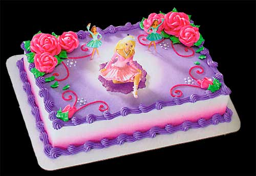 Barbie Cake Decoration Picture in Cake Decor