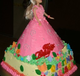 1200x1600px Barbie Cake Doll Picture in Cake Decor