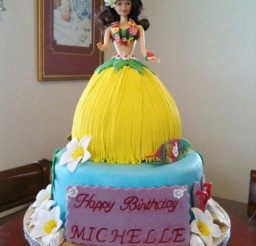 675x900px Barbie Skirt Cake Picture in Cake Decor
