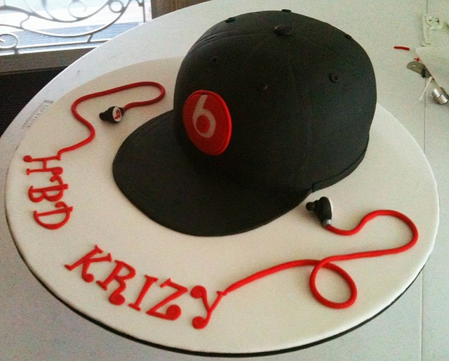 Baseball Cap Cake Picture in Cake Decor
