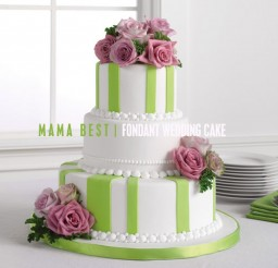 500x500px Best Fondant Picture in Wedding Cake
