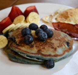 640x446px Blueberry Pancakes Bisquick Picture in pancakes