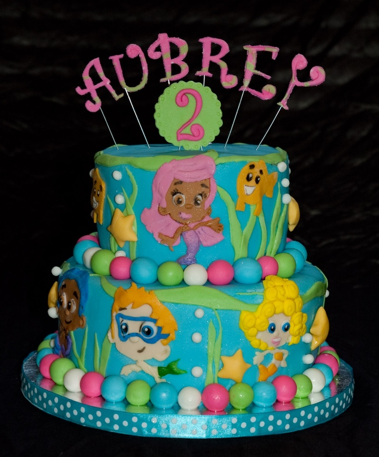 Bubble Guppies Cakes Picture in Cake Decor