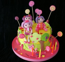 640x640px Cake Lalaloopsy Picture in Cake Decor