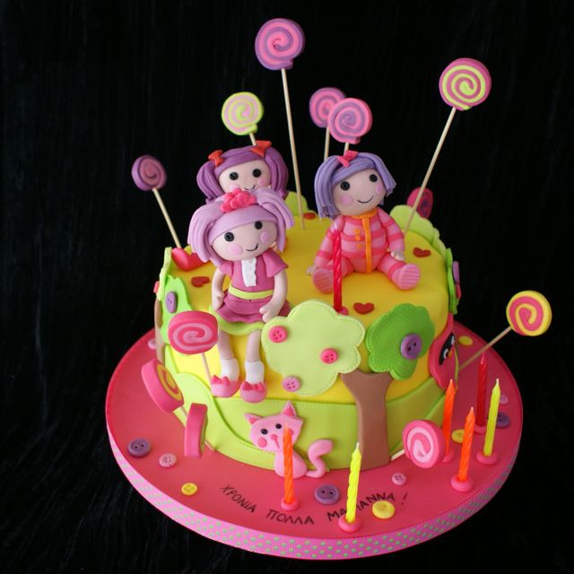 Cake Lalaloopsy Picture in Cake Decor
