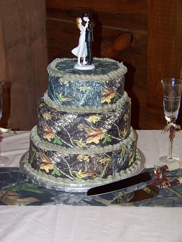 Camo Cakes Picture in Cake Decor