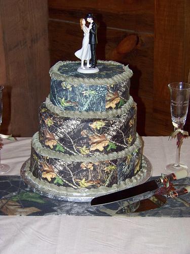 Camo Cakes Picture in Cake Decor