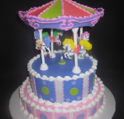 675x900px Carousel Cake Kit Picture in Cake Decor