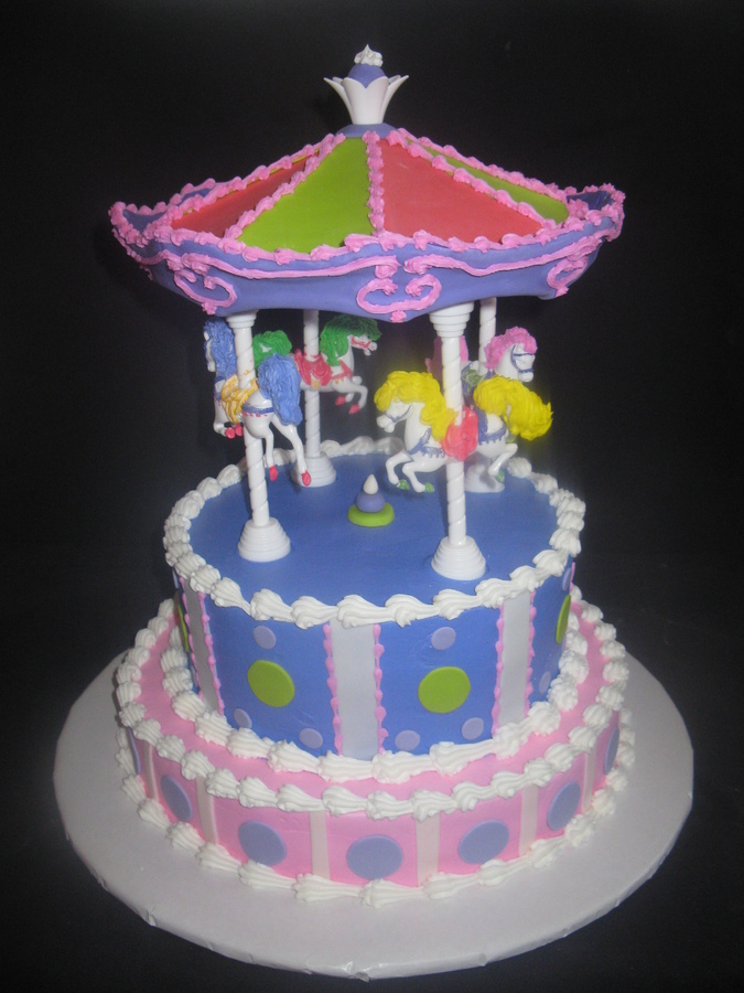 Carousel Cake Kit Picture in Cake Decor