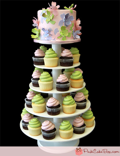 Cheap Cupcake Tower Picture in Cupcakes