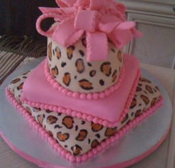 675x900px Cheetah Cake Picture in Cake Decor