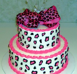 491x640px Cheetah Print Cakes Picture in Cake Decor