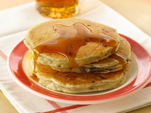 Chocolate Bisquick Pancakes Picture in pancakes