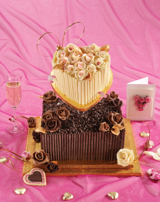 Chocolate Cigarellos Picture in Chocolate Cake