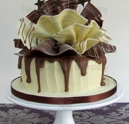 450x600px Chocolate Cigarillos Picture in Chocolate Cake
