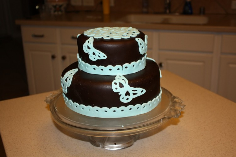 Cricut Mini Cake Machine Picture in Cake Decor