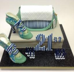 736x634px Designer Handbag Cakes Picture in Cake Decor
