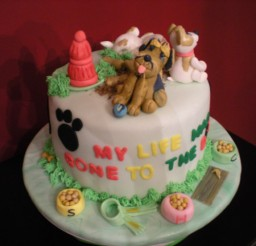 737x552px Dog Cake Decorating Picture in Cake Decor