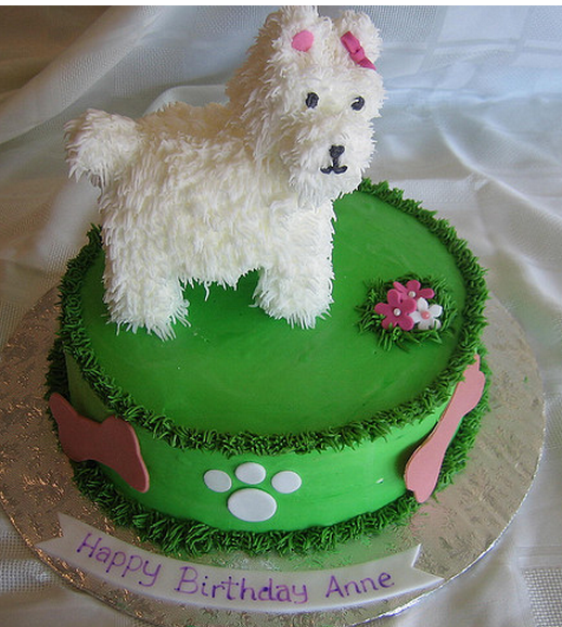 Dog Cake Decorations Picture in Cake Decor