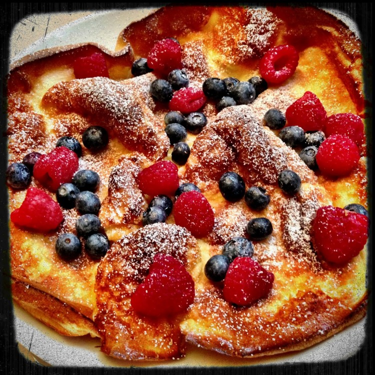 Dutch Baby German Pancake Recipe Picture in pancakes