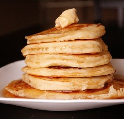 500x333px Easy Fluffy Pancake Recipe Picture in pancakes