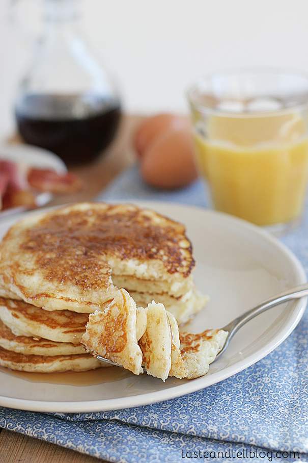Easy Pancake Mix From Scratch Picture in pancakes
