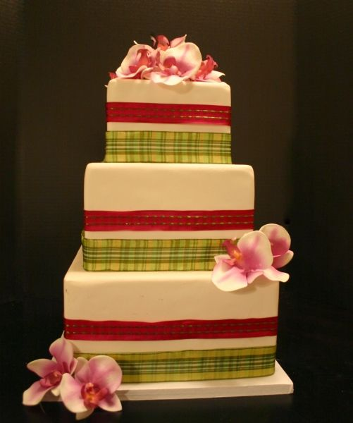 Edible Ribbon For Wedding Cakes Picture in Wedding Cake