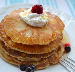 600x400px Eggless Pancake Recipe Picture in pancakes