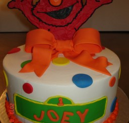 1200x1600px Elmo Fondant Picture in Cake Decor